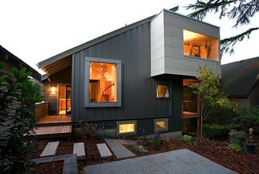 flat roof Architectural Design exterior elements Pinterest