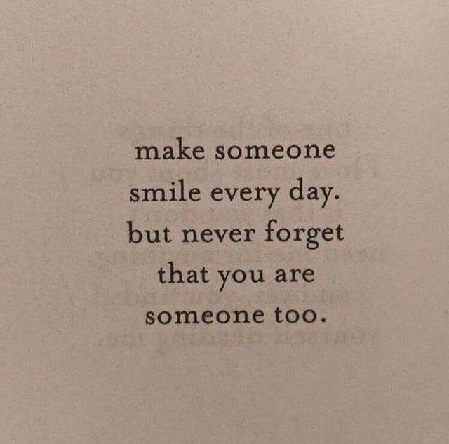Something to always remember!
