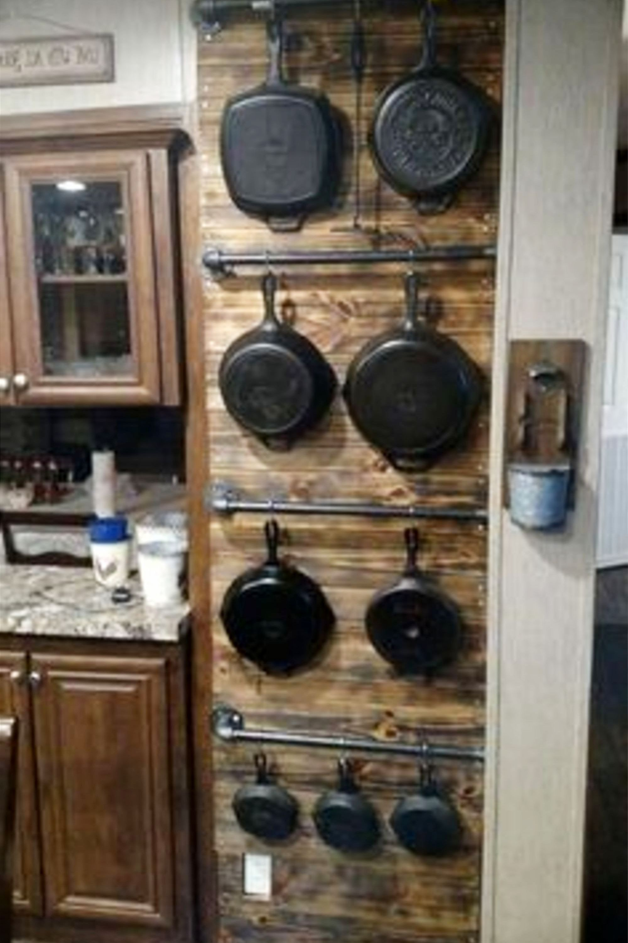 Easy Diy Rustic Home Decor Ideas On A Budget Clever Cabin Kitchens Old Fashioned Kitchen Wall