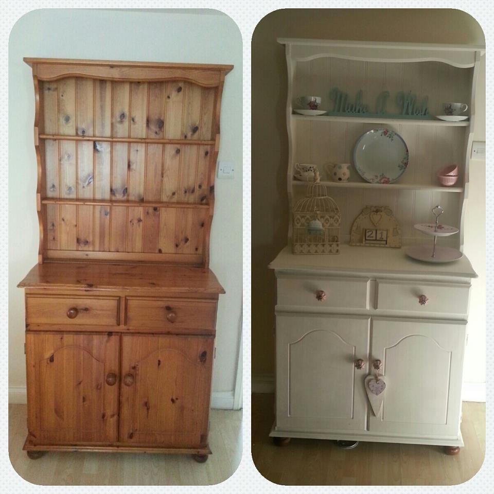 Welsh Dresser In Annie Sloan Original