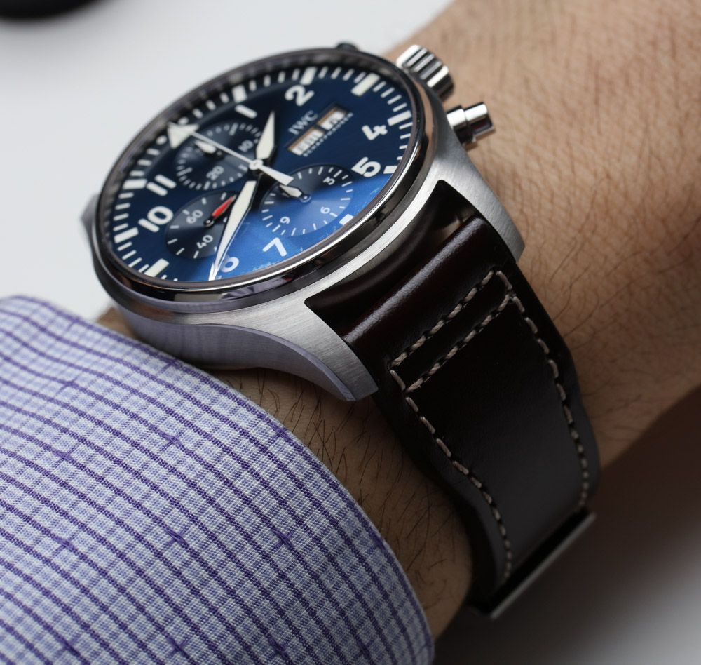 IWC Pilot's Watch Chronograph 3777 Timepieces For 2016 Hands-On Hands-On