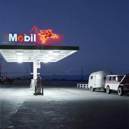Jeff Brouws, Mobil, Highway 395, California