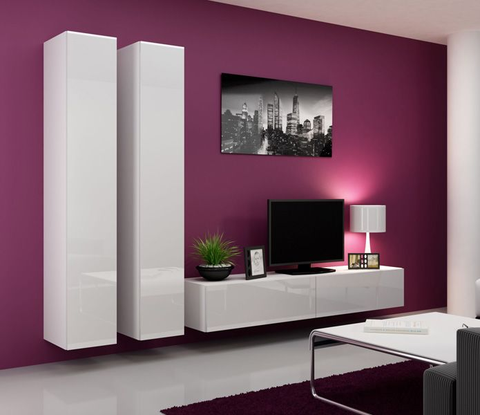 Seattle 13 Wand, Modern wall units and Living room wall units