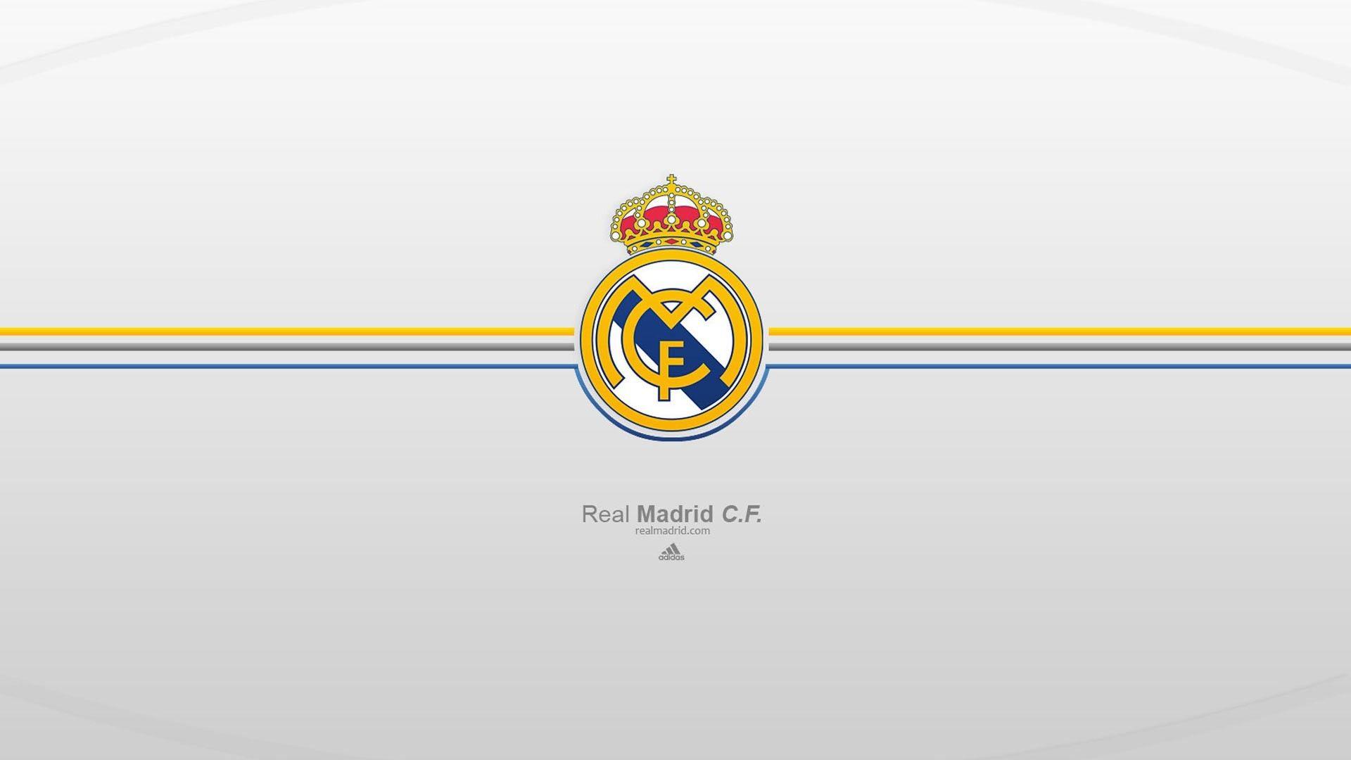 1920x1080 Real Madrid Logo Wallpaper Hd Widescreen Real Madrid Wallpapers Real Madrid Logo Wallpapers Madrid Wallpaper