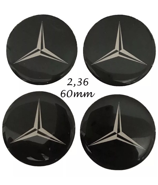 4x 60mm Alloy BMW Emblem Logo Badge Hub Wheel Rim Center Cap