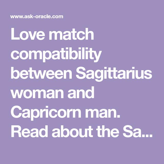 Capricorn male sagittarius female compatibility