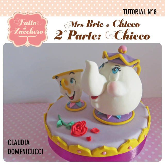 Mrs. Potts and Chip (Beauty and the Beast) #2: Chip - CakesDecor