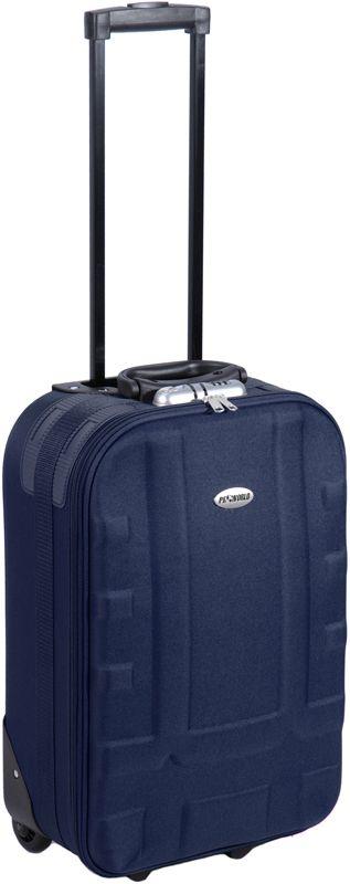 ProWorld handbagagekoffer blauw - http://qwekie.nl/product/proworld-handbagagekoffer-blauw/