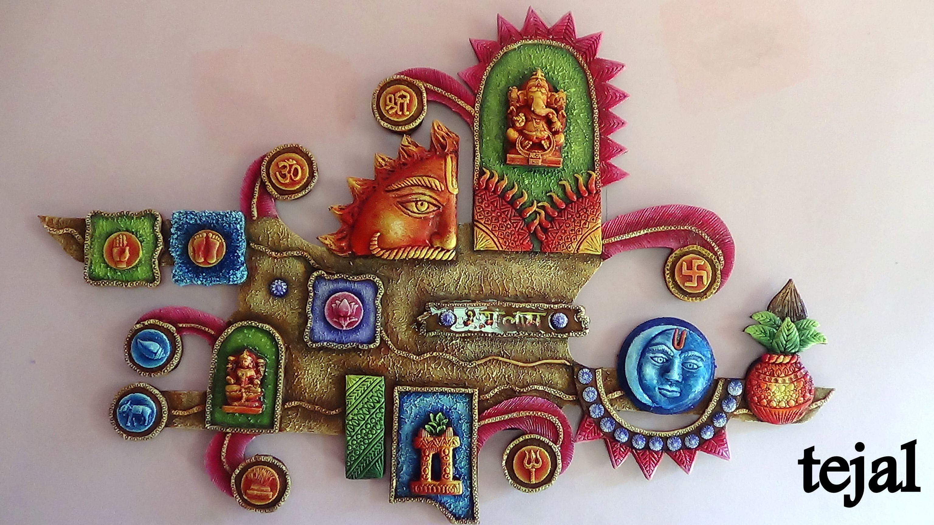 Mural Art To Order Or Inquiries Whts App On 9890592520 Clay Wall Art Mural Wall Art Mural Art