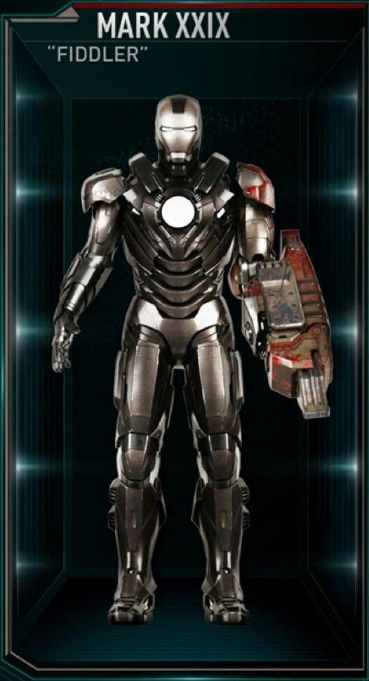 Iron Man Hall of Armour : Mark 29   Marvel   Armadura do ...