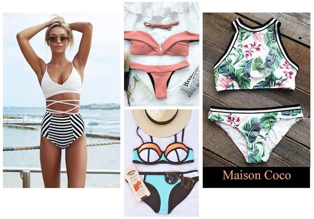 Maison Coco: Beachwear: come essere perfette in spiaggia