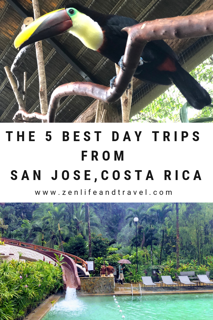 The 5 Best Day Trips From San Jose Costa Rica Zen Life And Travel San Jose Costa Rica Costa Rica Travel Costa Rica Activities