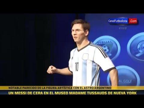 La statue de cire de Lionel Messi : réussie ou pas ? - http://bit.ly/1EmVZ9e