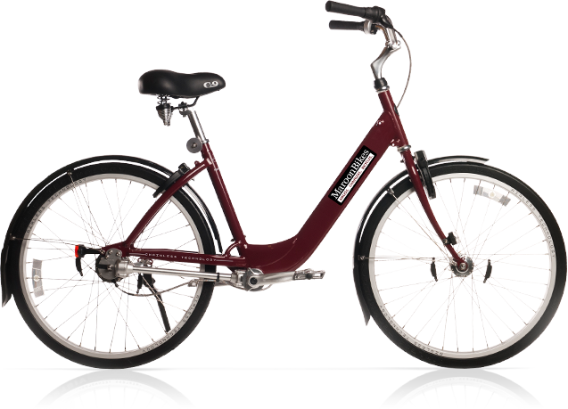 Maroon Bikes On The A Campus Looks Like The Same Concept As The