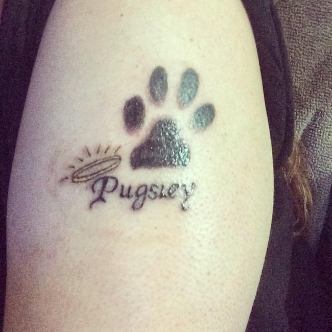 4 Unforgettable Ways To Honor The Life Of A Dog Who Passed Away Dog Memorial Tattoos Dog Tattoos Meaningful Tattoos