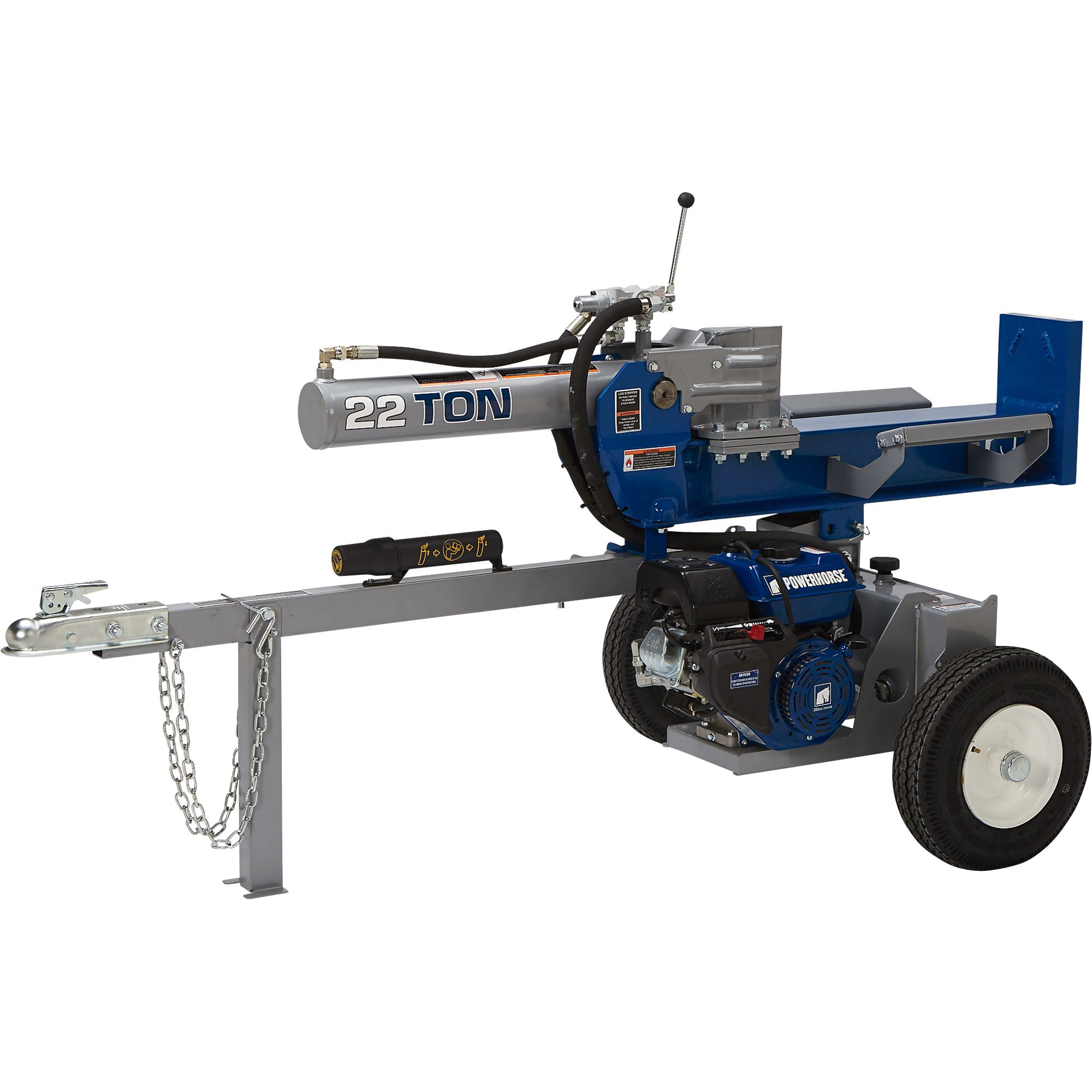 Powerhorse Horizontal/Vertical Log Splitter — 22 Tons