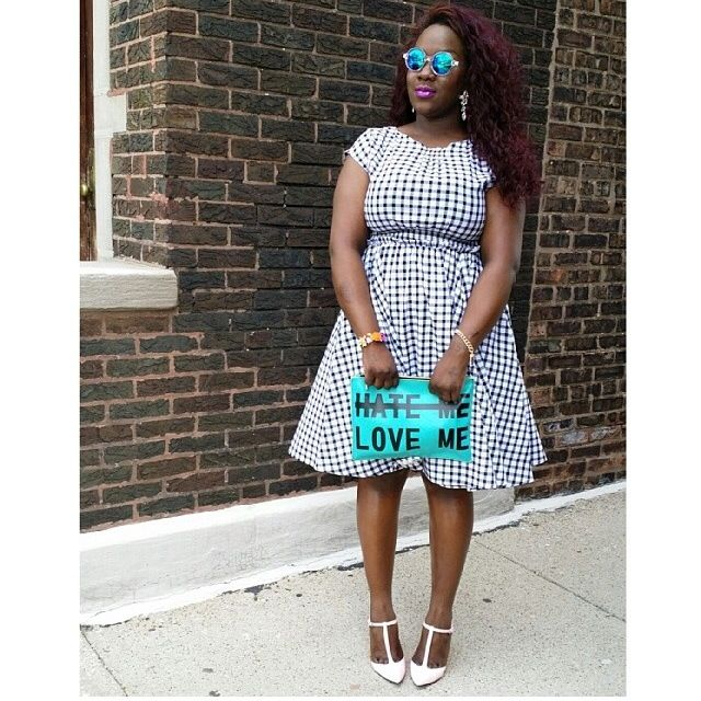 a6b2e74ad7b0f PLUS SIZE STYLE CHECK IN  GINGHAM STYLE