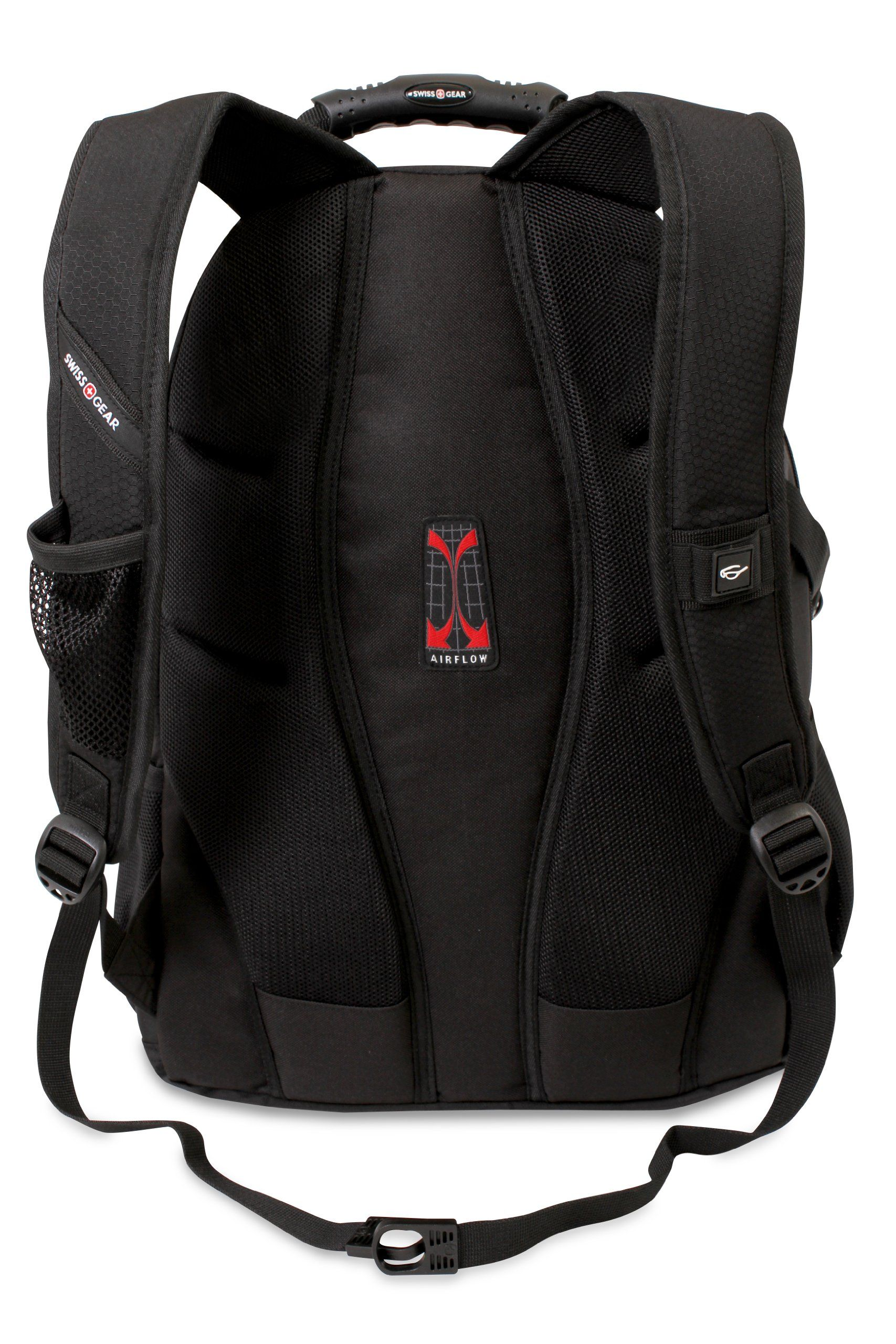 Amazon.com  SwissGear Laptop Computer Backpack with Secure Velcro Strap  Closure SA3183 (Black Red) Fits Most 15 Inch Laptops  Computers    Accessories 2ba5778a20bae