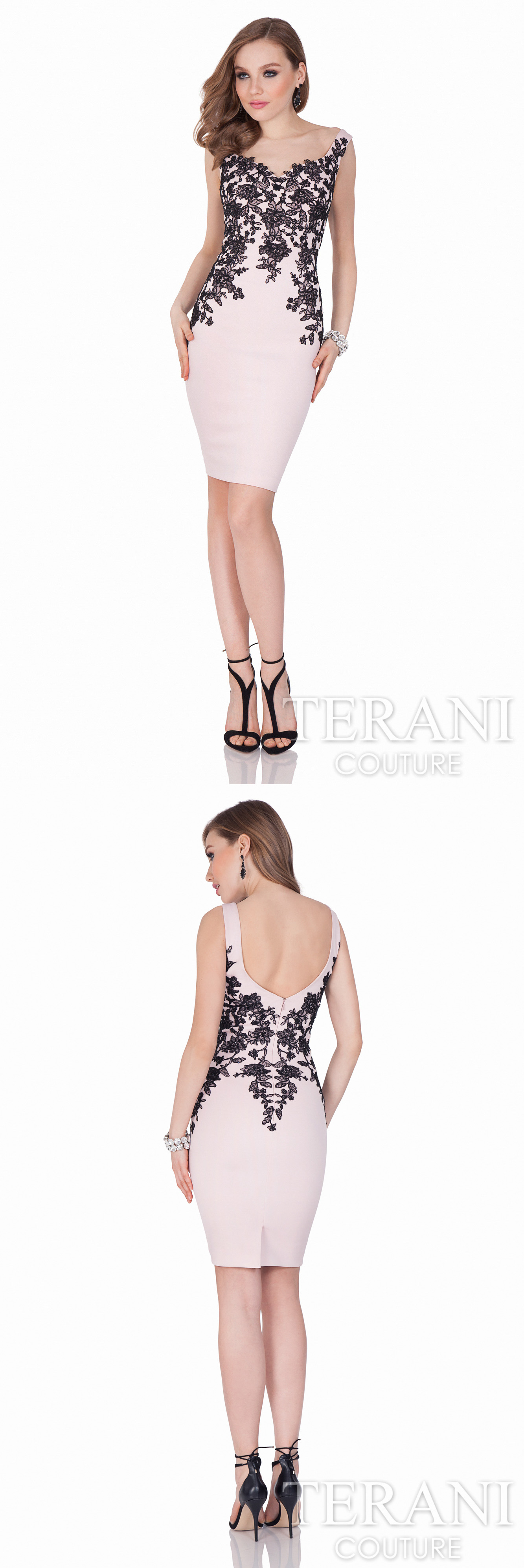 Terani Couture stunning #twopiece #cocktaildress in beaded lace ...