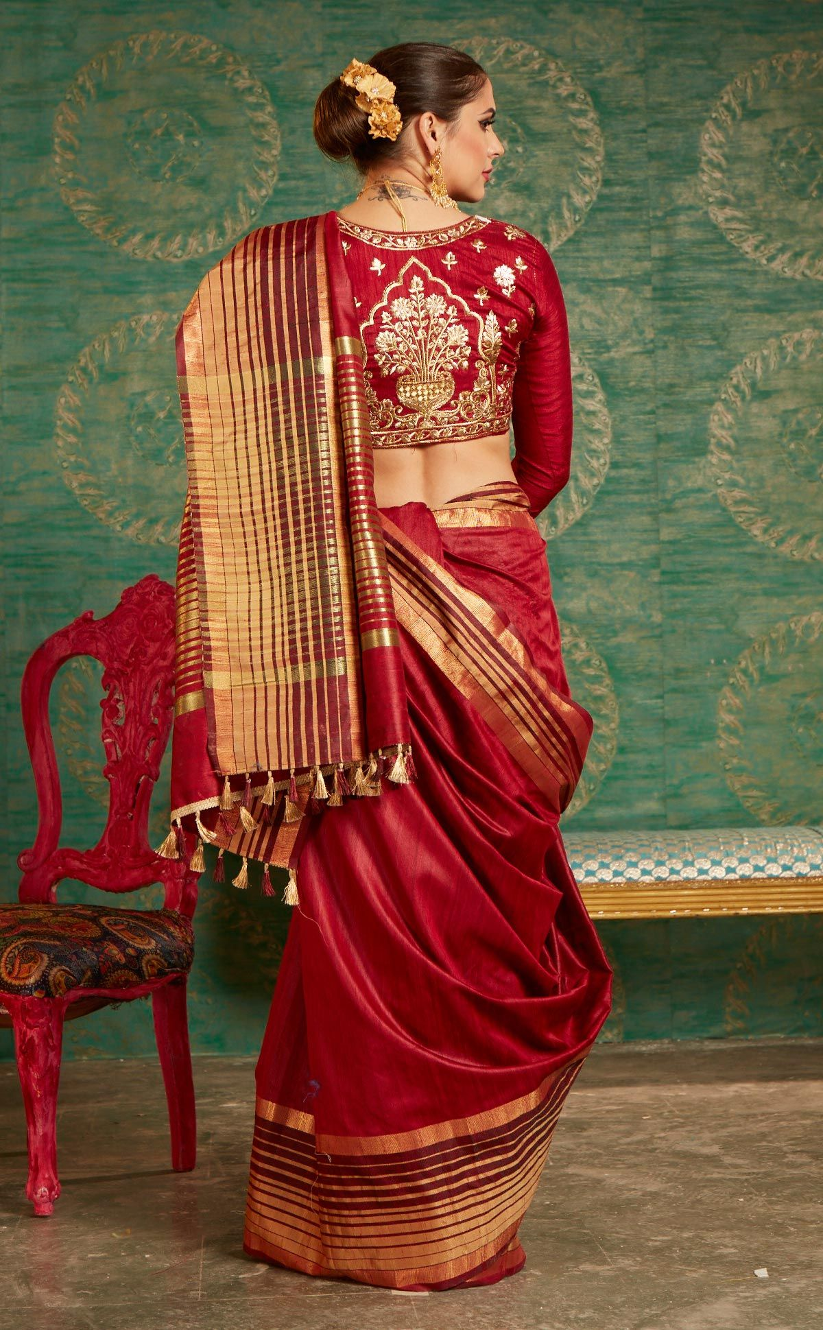 103008317c Buy Maroon Colored Designer Festive Wear Zoya Silk Saree Online India, Best  Prices, Reviews - Peachmode