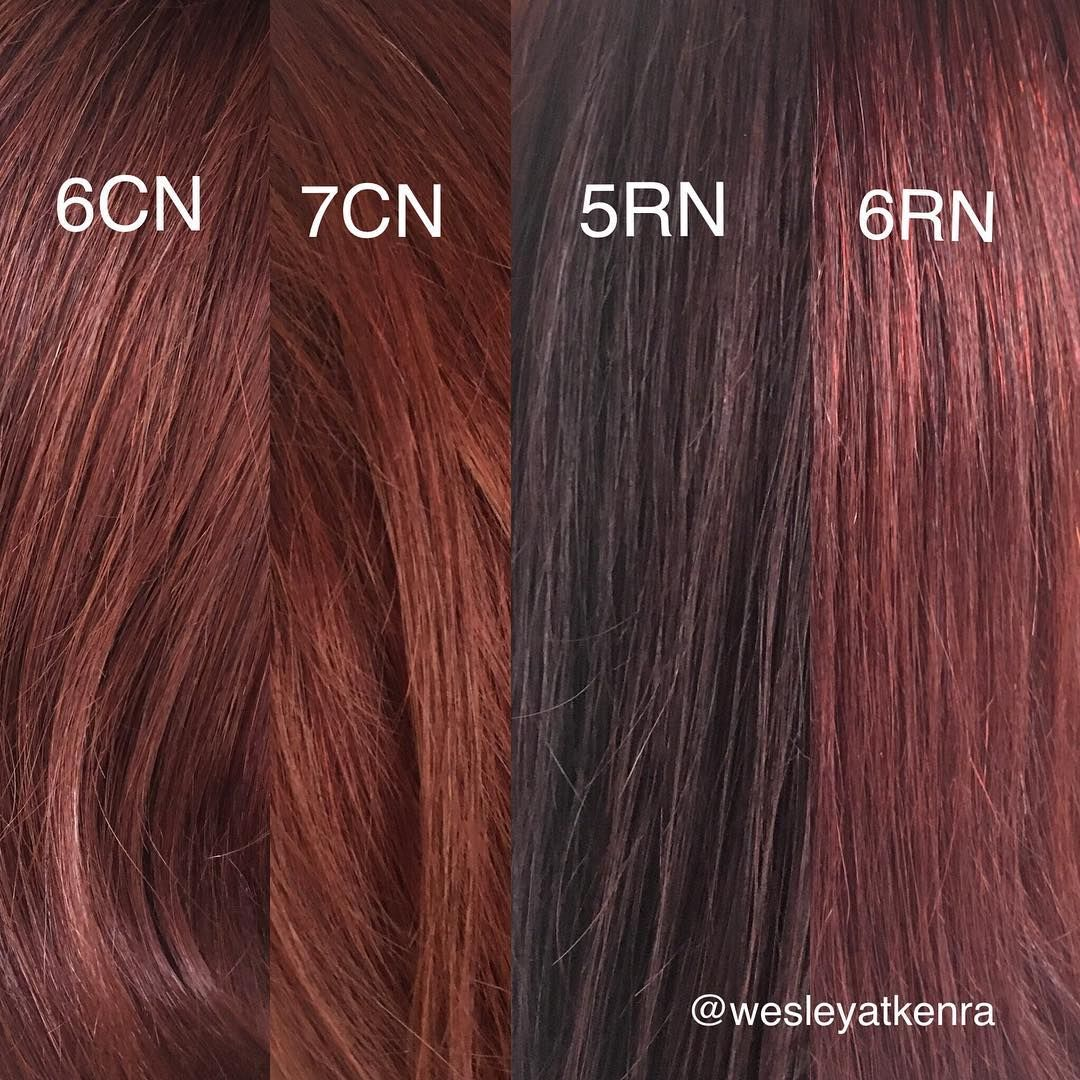 Here S A Look At Our Amazing New Kenraprofessional Red And Copper Naturals Providing Enhanced Gray Cove Hair Color Formulas Kenra Hair Color Coper Hair Color