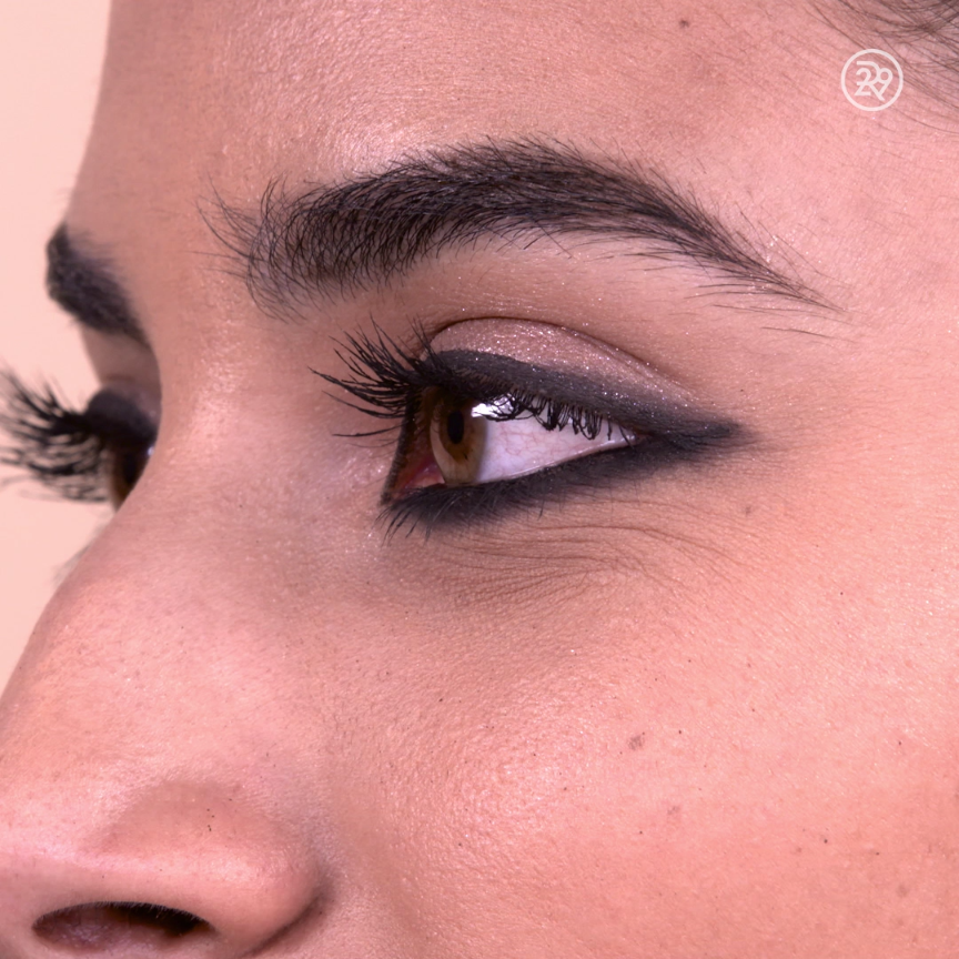 Smudge your cat eye for an extra sultry look