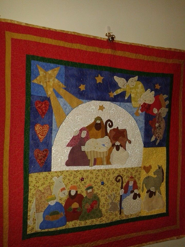 Nativity quilt | Sewing ideas patch work | Pinterest | Christmas ... : nativity quilts - Adamdwight.com