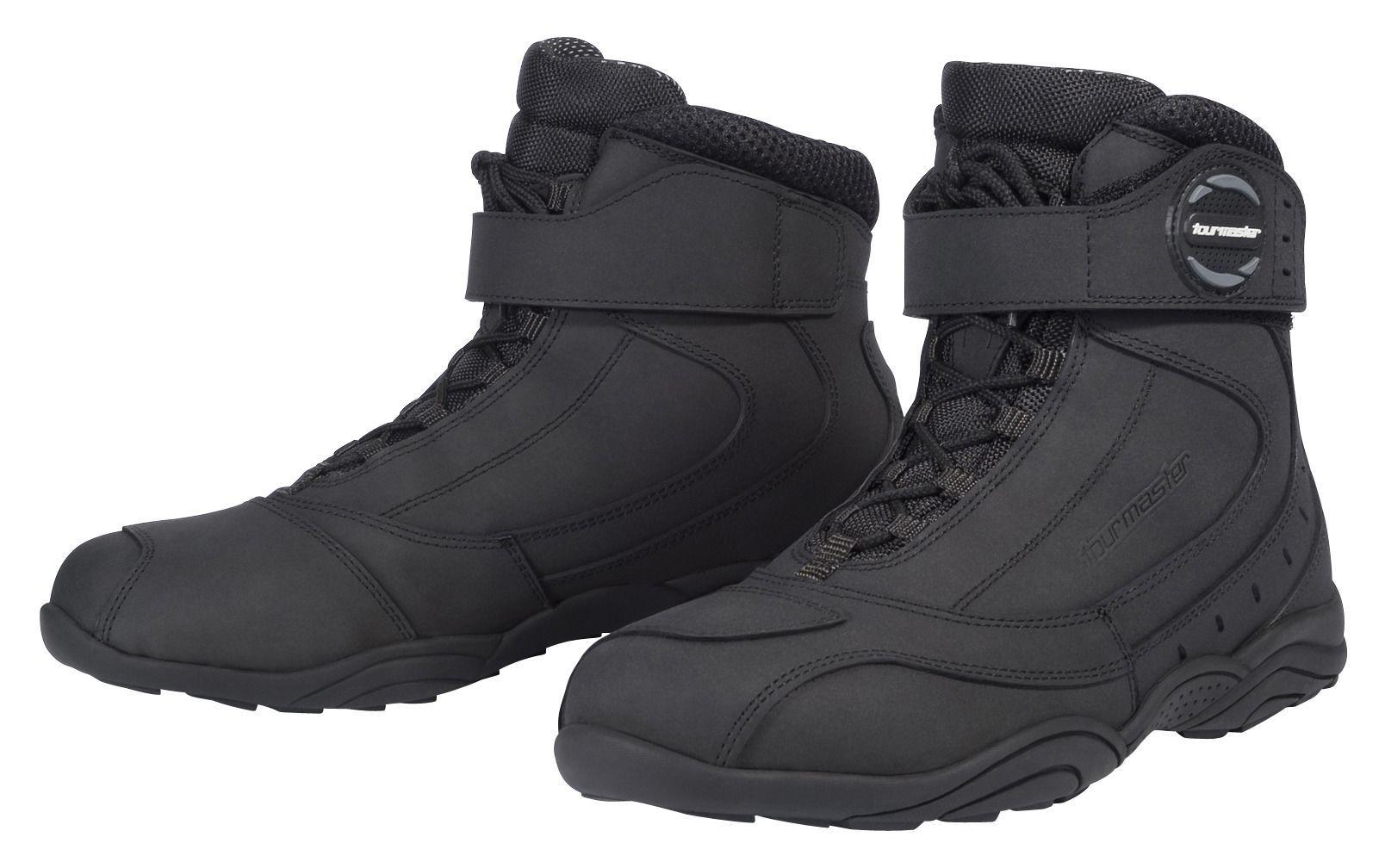 Icon Truant 2 Short Urban Motorcycle Boots Black