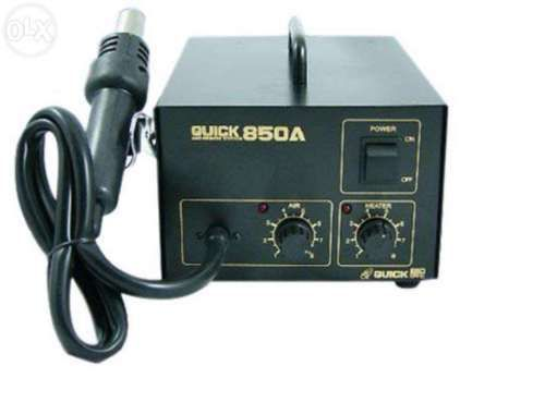 SMD-Rework-Station-Hot-Air-QUICK-850A-Anti-Electrostatic-Soldring-Rework-Station