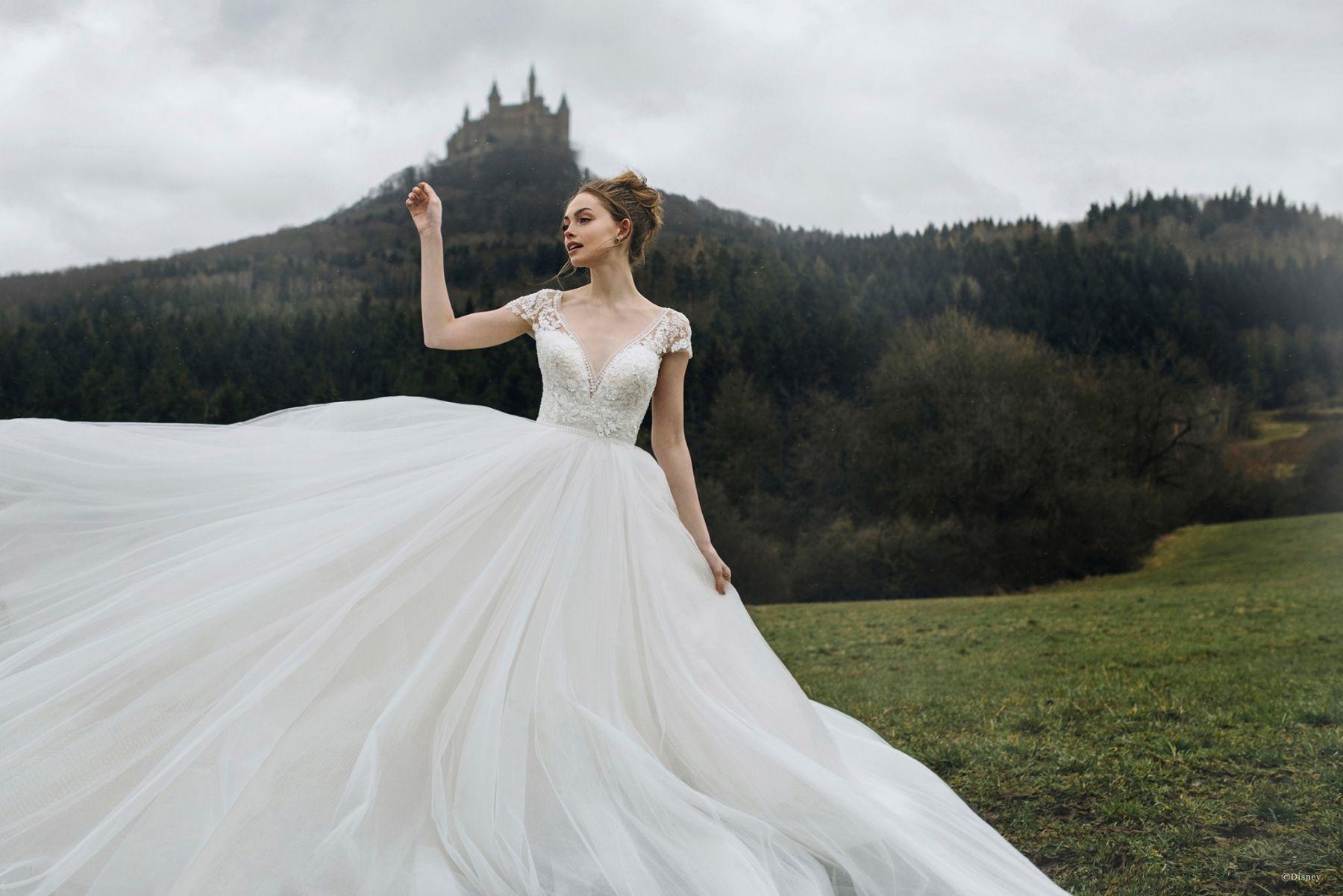 Style D263 Cinderella Allure Bridals Disney Wedding Dresses Fairy Tale Wedding Dress Stunning Wedding Dresses [ 1201 x 1800 Pixel ]