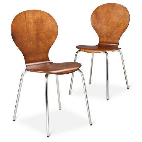 Modern Stacking Chair (Set Of 2) : Target