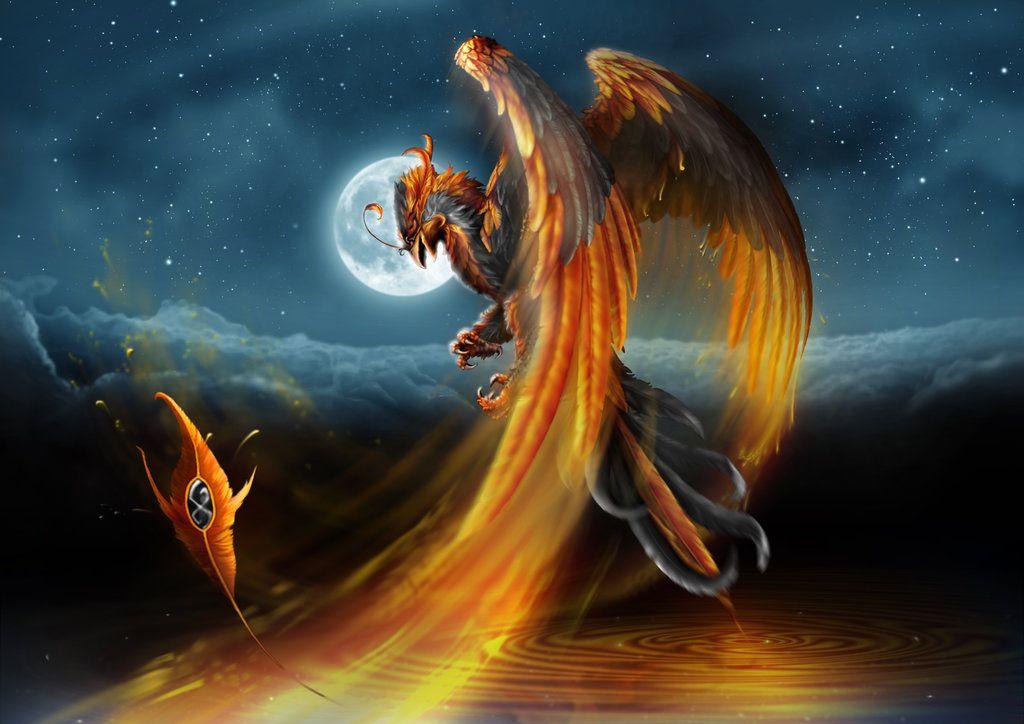 Phoenix by guillaume-phoenix.deviantart.com on @DeviantArt | Phoenix artwork, Mythical creatures ...