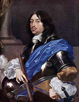 Karel X Gustaaf van Zweden. (8 november 1622- 13 februari 1660). Koning van Zweden van 1654 tot 1660.