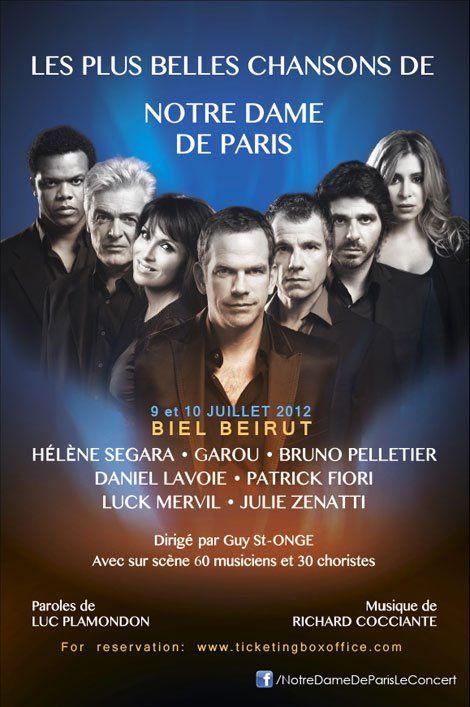Je veux regarder la pièce de théâtre modelé après Notre Dame de Paris