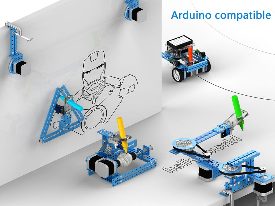 Mdrawbot 4 In 1 Drawing Robot Deviant Artist Kit Diy Dessin