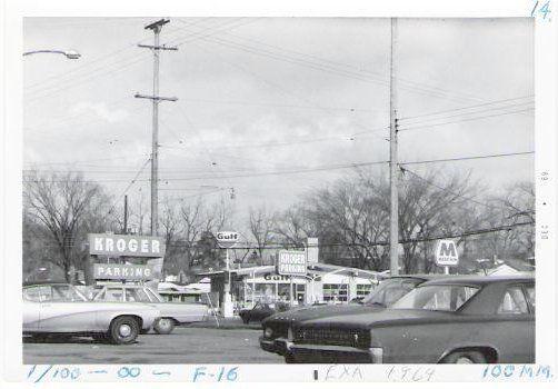 Kroger parking lot at 28th & Eastern - December, 1969