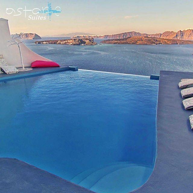 Beautiful evening...! #AstarteSuites #Santorini