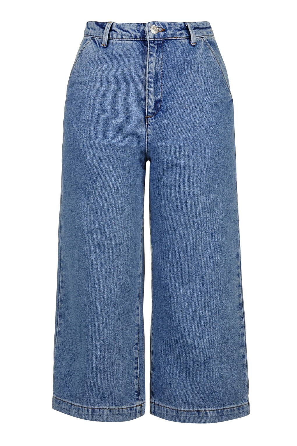 Photo 1 of PETITE MOTO Denim Culottes