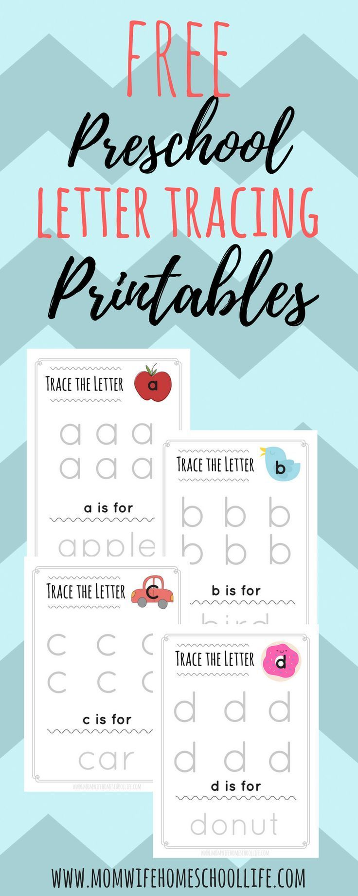 Trace the Letter: Lowercase Alphabet Tracing | Homeschool ...