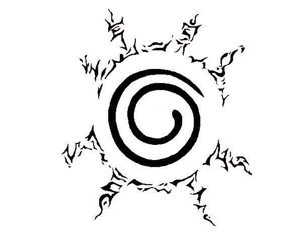 Naruto 9 Tails Seal Mark Naruto Tattoo Anime Tattoos Naruto Symbols