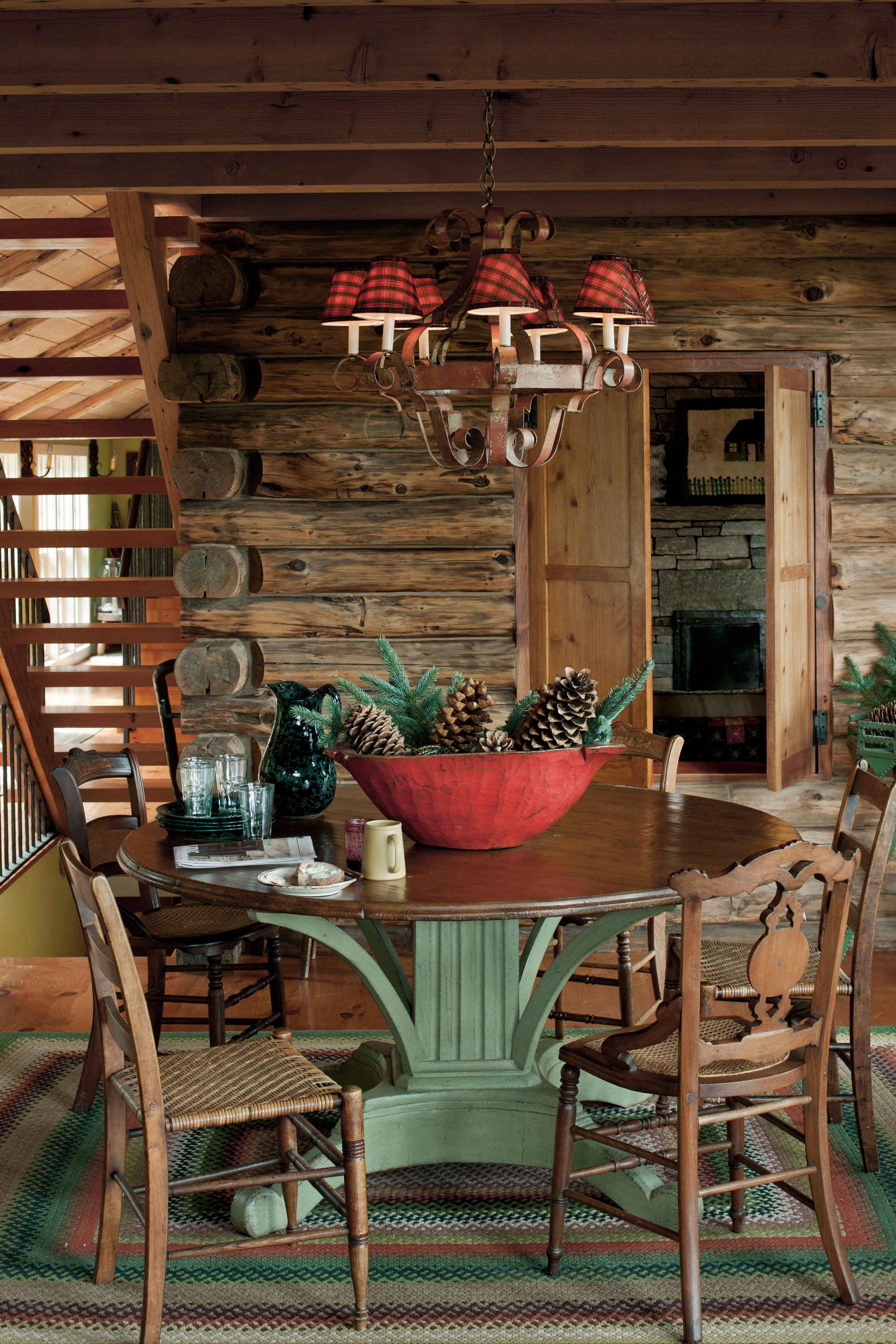 90 Best Christmas Decoration Ideas For The Merriest Home On The Block Log Cabin Christmas Cabin Living Rustic House