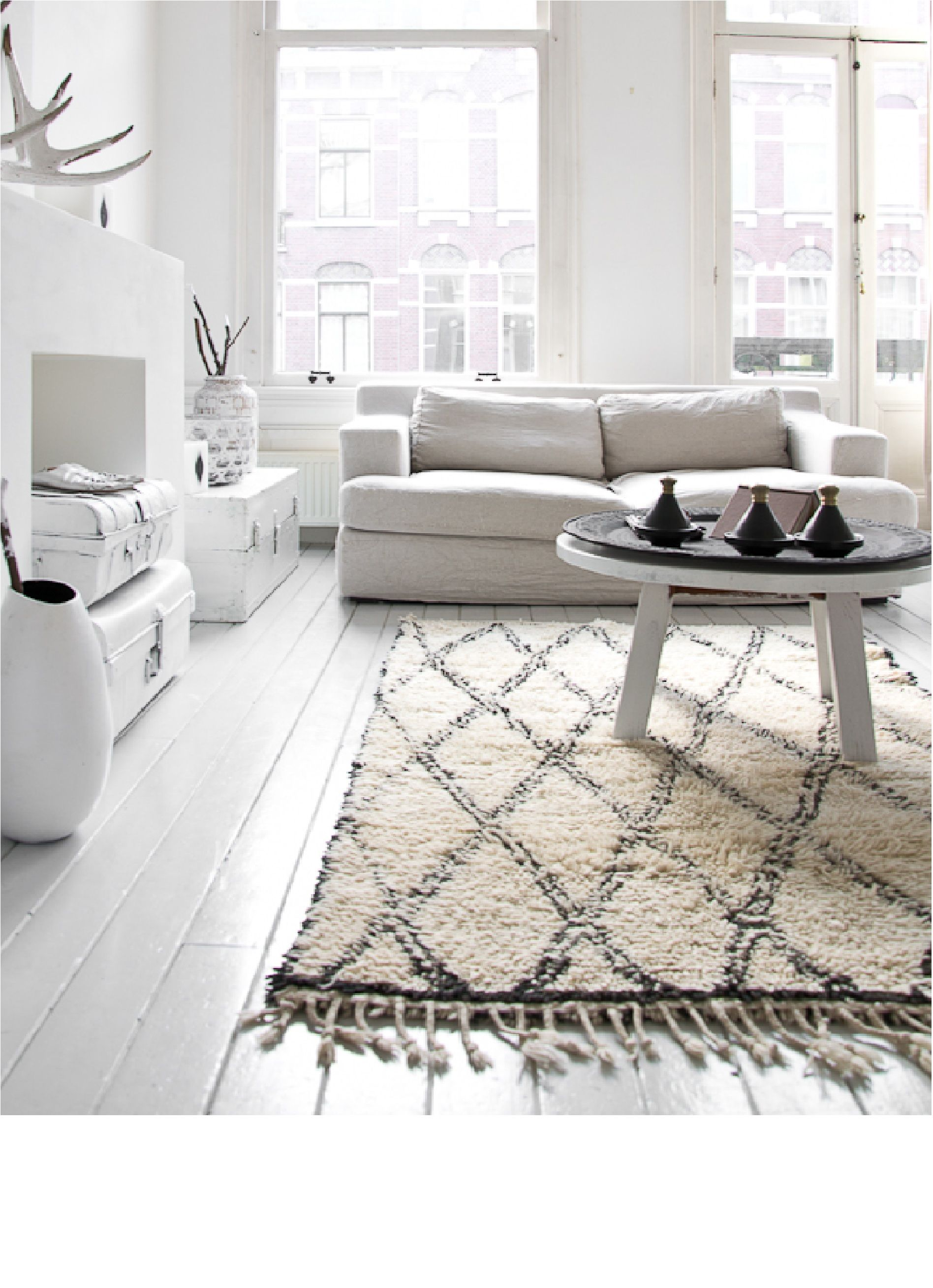 House Scandinavian, Moroccan Inspired