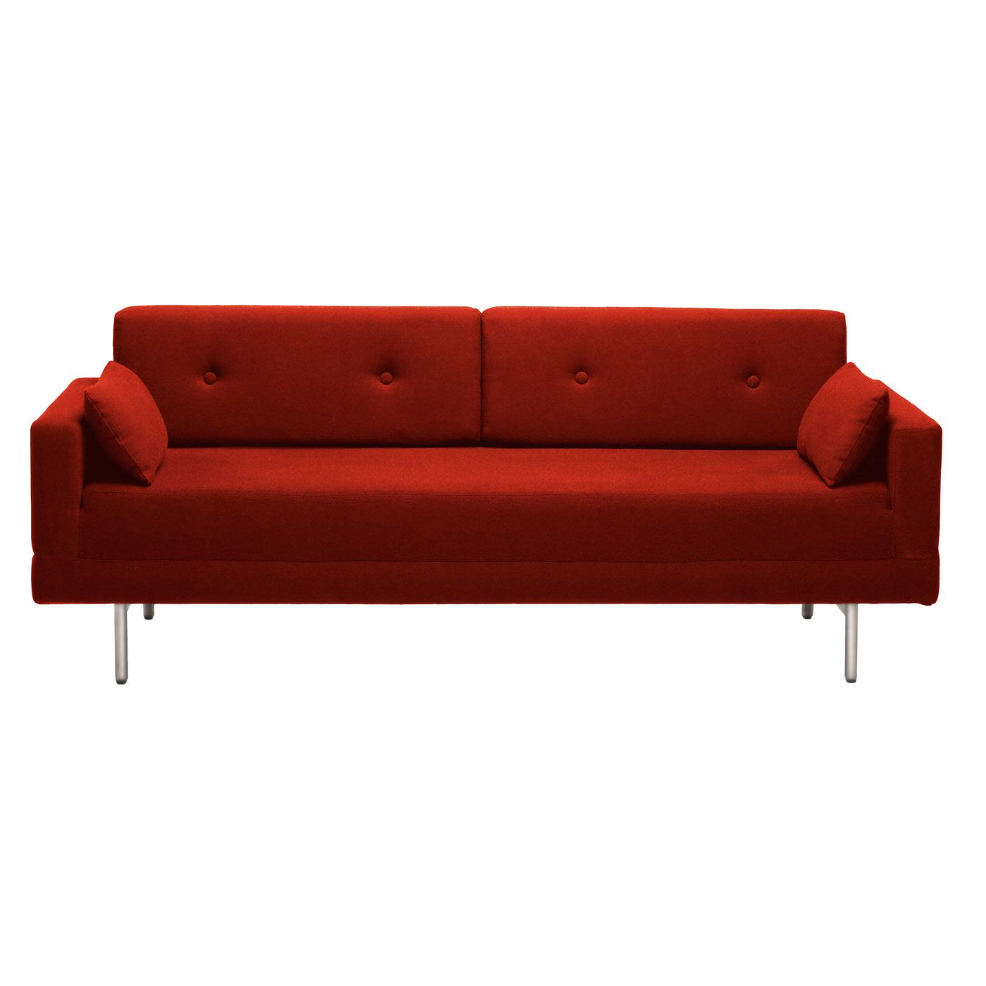 BluDot One Night Stand Sleeper Sofa - $1799. The seat flips ...
