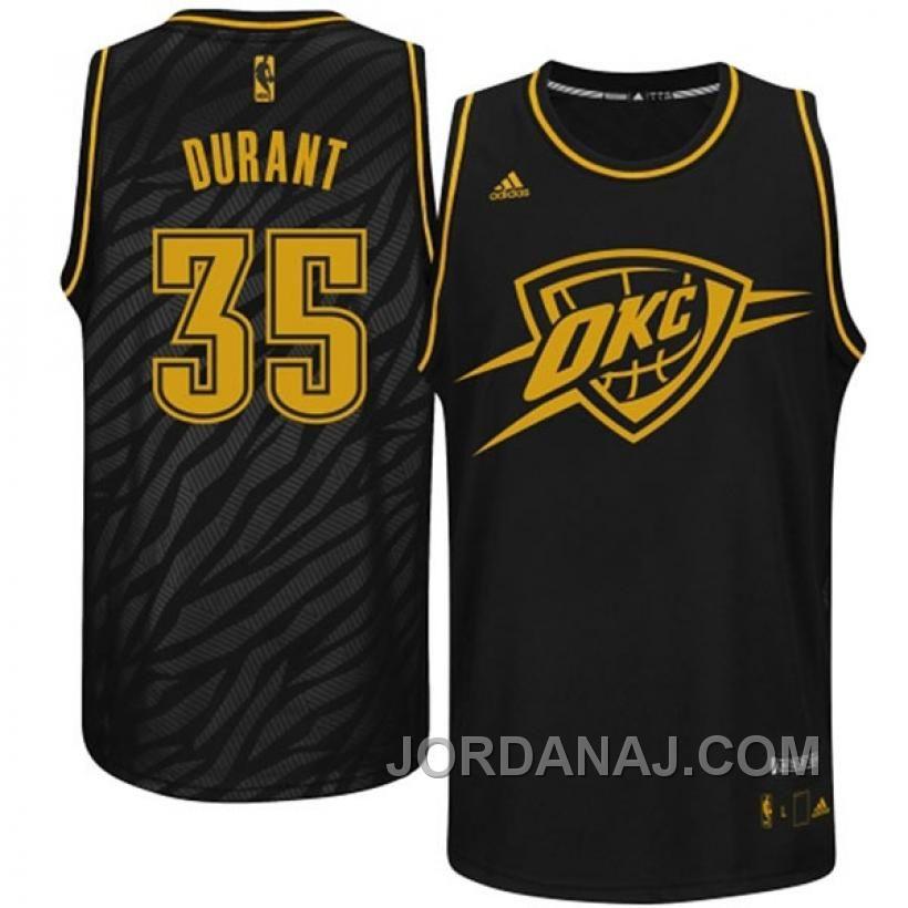 212956174 adidas Kevin Durant Oklahoma City Thunder Black Precious Metals Fashion Swingman  Jersey Durant Nba