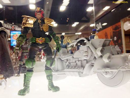 Revealed @ #SDCC2015: New 2000 A.D. x ThreeA Toys 1/12th scaled figures