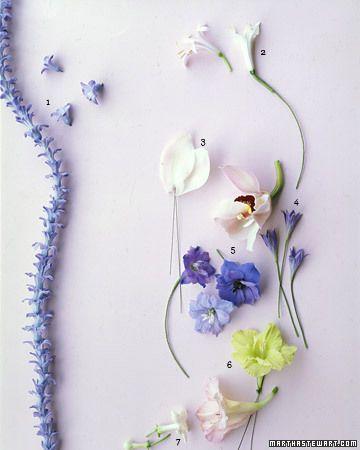 hand wired bouquets martha stewart weddings flowers very crafty