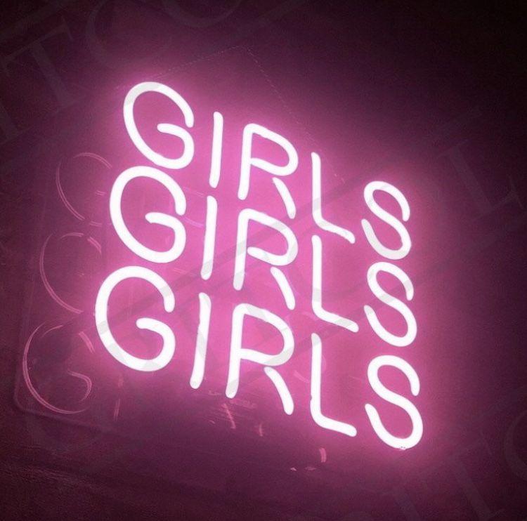 Girls Neon Sign