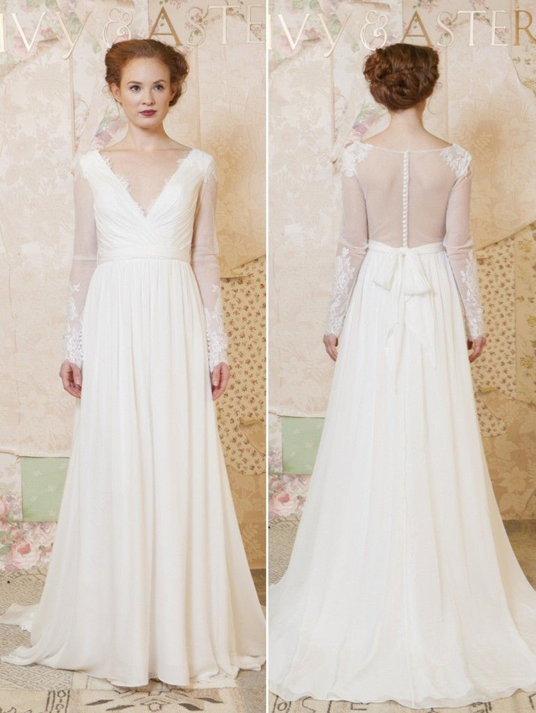 2016 Wedding Dresses Ivy Aster Spring Collection Knotsvilla