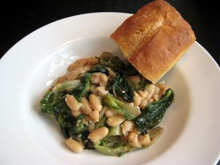 Flavors by Four: Escarole and Beans