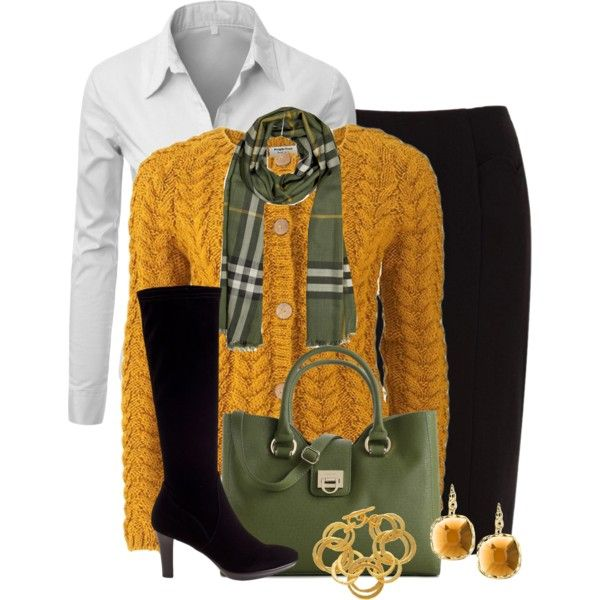 """""""Burberry Scarf"""" by cathy0402 on Polyvore"""